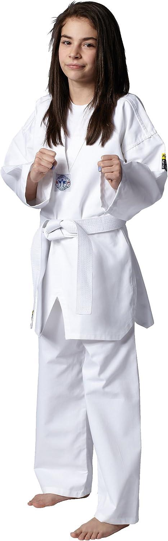 Kwon Kinder Kampfsportanzug Taekwondo Song, Blanco, 120 cm, 551003120