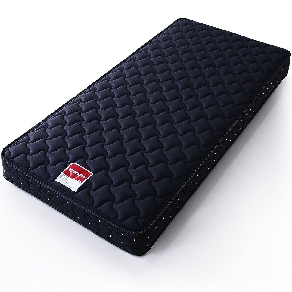 める織る起きてフランスベッド マットレス 日本製 スタンダード シングル チャコールグレー