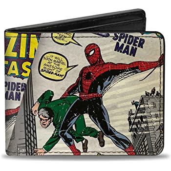 NEW OFFICIAL MARVEL COMICS THE AMAZING SPIDER-MAN VENOM ALL OVER PRINT WALLET