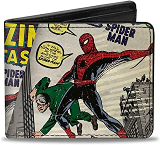 Buckle-Down Marvel Comics Wallet Spider-man Carrying Man Amazing Fantas Accessory