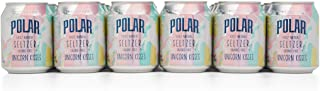 Polar 100% Natural Seltzer Jr Unicorn Kisses. 24 x 8 oz - Unleash your inner unicorn