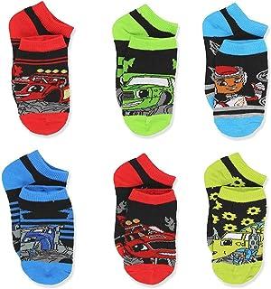 Blaze and the Monster Machines Toddler Boys 6 pack Socks