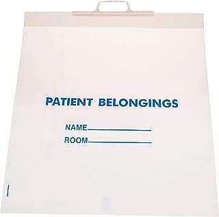 hospital patient belonging bags