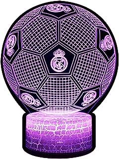 3D Lámpara de Escritorio NHSUNRAY 7 colores LED Touch lá