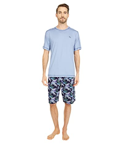 Tommy Bahama Woven Jam Pajama Set (Rainforest) Men