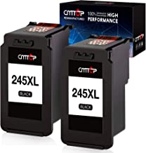 CMTOP Compatible Ink Replacement for Canon PG-245XL 245XL Ink Cartridge, Use with Canon..