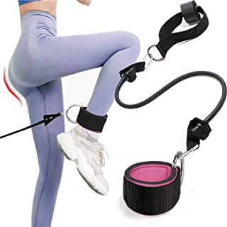 Ankle Straps for Cable Machines with Resistance Bands,...