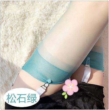 Beine nylon Glänzende Lycra