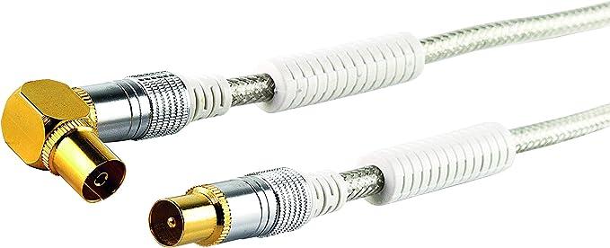 Schwaiger Premium Antennen Anschlusskabel 110 Db Mit Elektronik