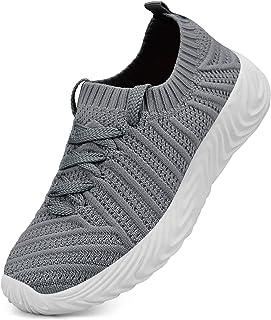 QANSI Kids Shoes Lightweight Slip On Breathable Running...