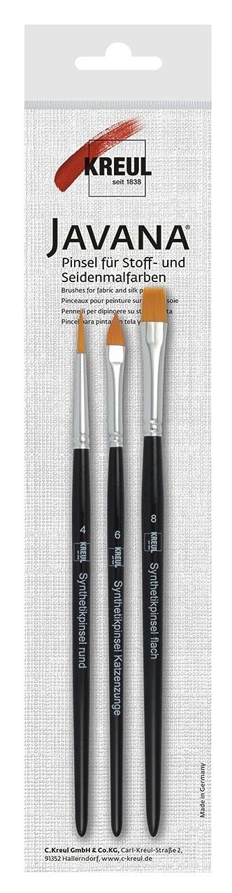 JavaNa 49042?–?Textil Fabric Paint Brush Set