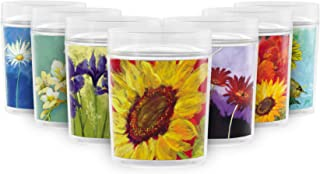 Sunflower Prima Donna 14 oz. Double Wall Insulated Resort Style Drinking Cup