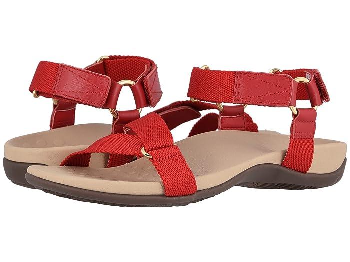 VIONIC  Candace (Cherry) Womens Dress Sandals