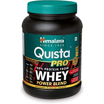 Himalaya Quista Pro Advanced Whey Protein Powder - 1kg (Coffee Mocha)