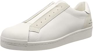 A X Armani Exchange Men's Suede + Leather Slip on Sneaker