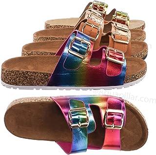 Contoured Footbed Slide On Sandal - Unisex Slipper Corks Shoes