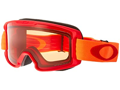 Oakley Line Miner (Youth) (Red Neon Orange/Prizm Snow Persimmon) Snow Goggles