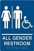All Gender Restroom Sign , 6