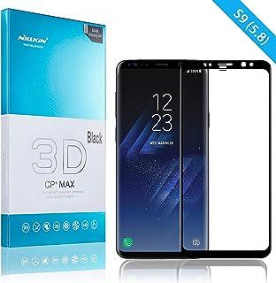 Nillkin Samsung Galaxy S9 Screen Protector, HD High Temperature Tempered Glass Screen Protector, 3D Touch Stand, 9H Hardne...