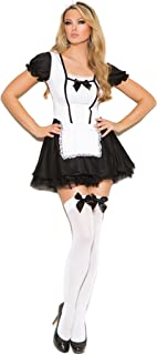 Zabeanco Sexy French Mischievous Maid Role Play Halloween Costume