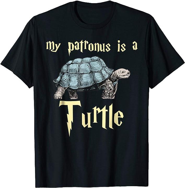 Sea turtle T-Shirt My Patronus Is A Turtle Gift