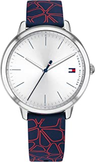 Tommy Hilfiger Women's White Dial Navy Silicone Watch - 1782252