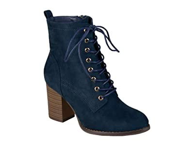 Journee Collection Baylor Bootie (Blue) Women