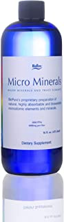 BioPure MicroMinerals Clear - Major Minerals and Trace Elements (16 fl oz, Liquid)