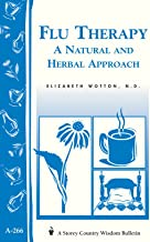 Flu Therapy: A Natural and Herbal Approach: (A Storey Country Wisdom Bulletin A-266) (Women's Edge Health Enhancement Guide)