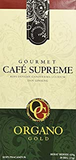 Organo Gold Cafe Supreme 100% Certified Ganoderma Extract Sealed
