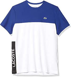 Men's Sport Short Sleeve Ultra Dry Colorblock Graphic T-Shirt