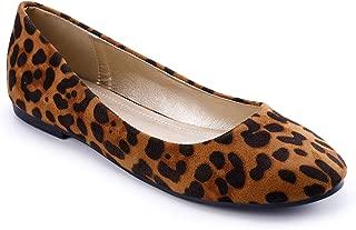 Women's Classic Round Toe Slip on Ballet Flat Shoes