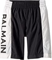 Balmain Kids - Swim Shorts w/ Logo On Side (Little Kids/Big Kids)