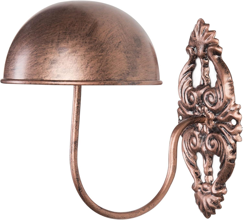 HUIJK OFFer Vintage Style Bronze Tone Metal Max 84% OFF Cap Wig Entryway Hat Displ