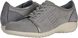 Light Gray Nubuck/Silver Threads Leather/Smoke Gray Nubuck