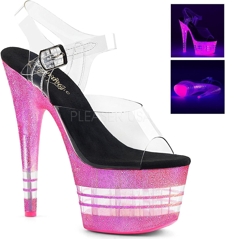 Pleaser Womens ADORE-708UVJGLN C NHPG Sandals