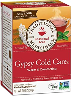Traditional Medicinals Organic Tea (Gypsy Cold Care, Pack of 1)