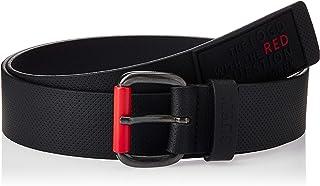 GUESS Men's Red Logo Sporty Belt