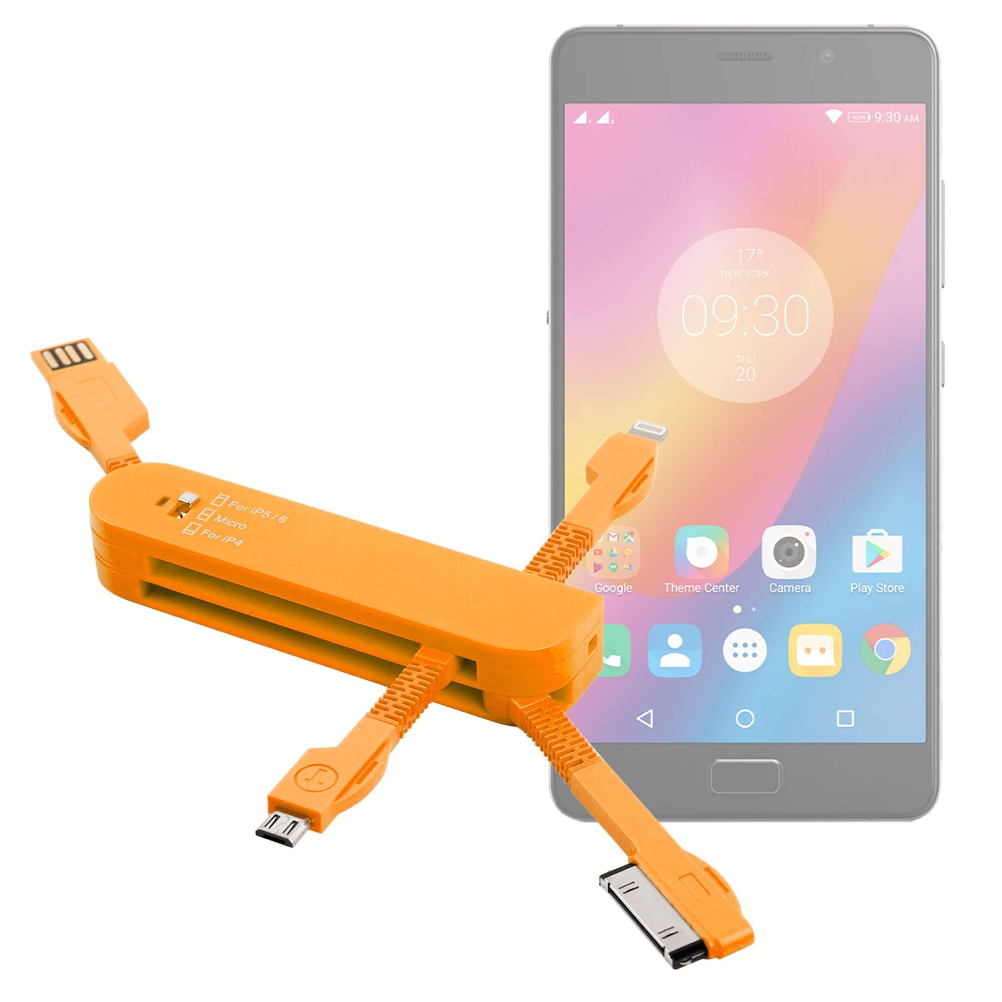 Cargador navaja suiza USB 3 en 1 para smartphones Meizu M5 Note ...