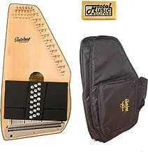 Oscar Schmidt 21 Chord Autoharp w/Gig Bag, Spruce Top, Maple Body, OS10021-AC445