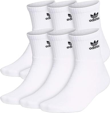 adidas Originals Men's Trefoil Quarter Socks (6-Pair)