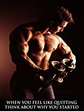 Workout Poster Fitness Poster Bodybuilding Poster Gym Poster 18x24