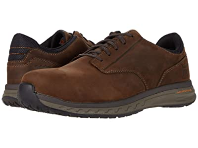 Timberland PRO Drivetrain Oxford Composite Safety Toe EH (Brown Leather) Men