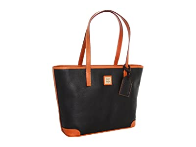 Dooney & Bourke Charleston Shopper (Black) Tote Handbags