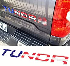 Bedside Strobe Decals Vinyl Sticker Decal fits 2014-2018 Toyota Tundra