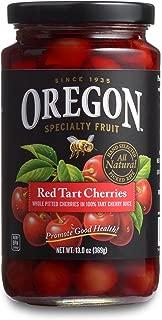 Oregon Fruit Products Red Tart Cherries in Cherry Juice - 13 oz jar, (Pack of 4)