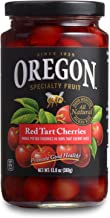Oregon Fruit Products Red Tart Cherries in Cherry Juice – 13 oz jar, (Pack of 4)