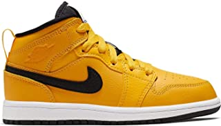 Jordan 1 Mid University Gold/Black-White (PS)