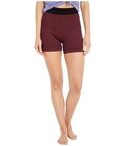 FP Movement Seamless Shorts (Wine) Women