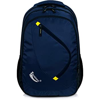 ZAmaizoom Bags for 15.6-inch Casual Laptop Backpack (Navy Blue)